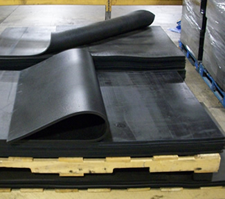 Industrial Rubber Sheets And Pads Black Iron Rubber Company